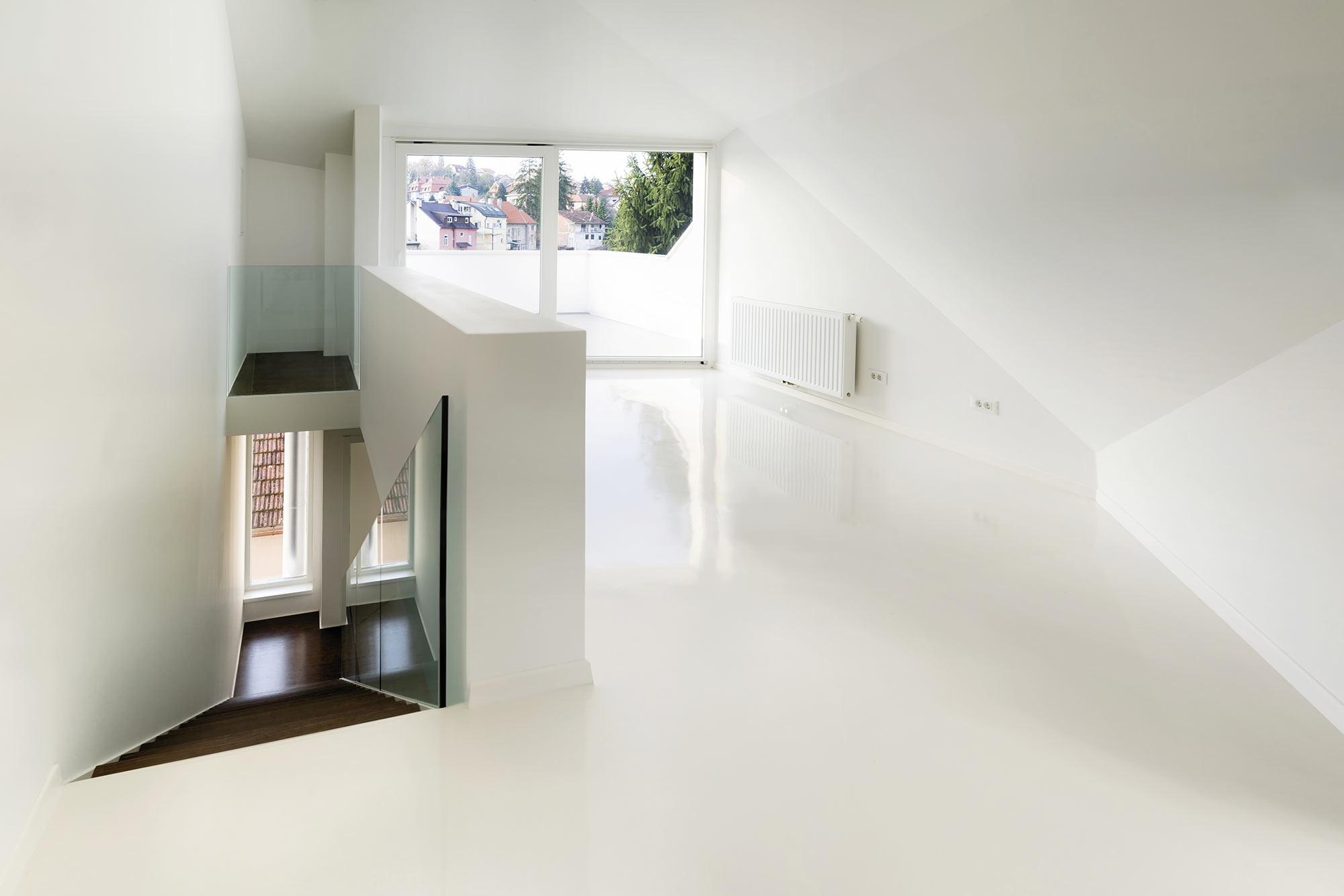 Hallway - Burke Concrete Polishing