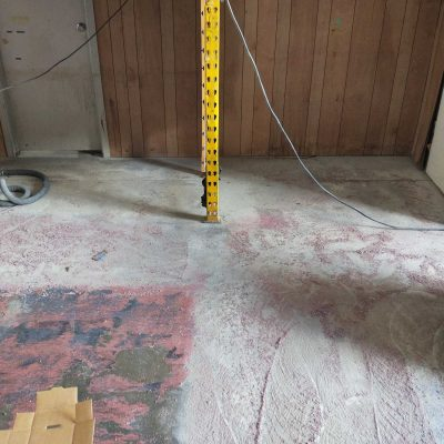 Commercial Indoor Epoxy Removal by Burke Concrete Polishing