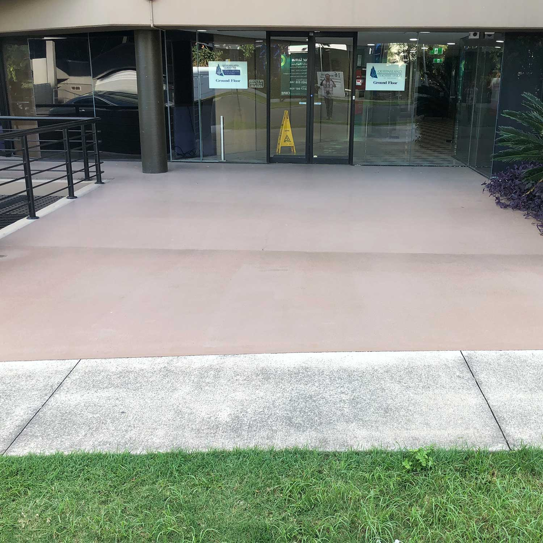 Concrete Outdoor Kitchen Countertops: Outdoor Concrete Patio Epoxy In Milton