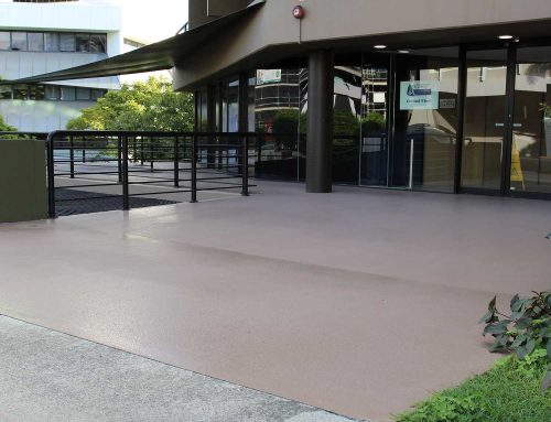 Outdoor Concrete Patio Epoxy in Milton, Brisbane