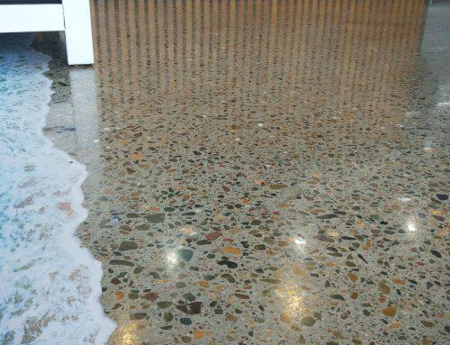 Concrete Floor Polishing for Fish Tango Restaurant in Sherwood, Brisbane