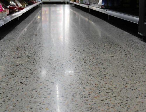 Concrete Floor Polishing for AsiaMart Supermarket in Algester, Brisbane