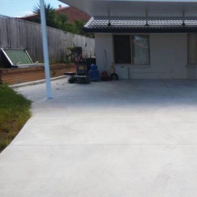 Residential Driveway Grind and Seal by Burke Concrete Polishing