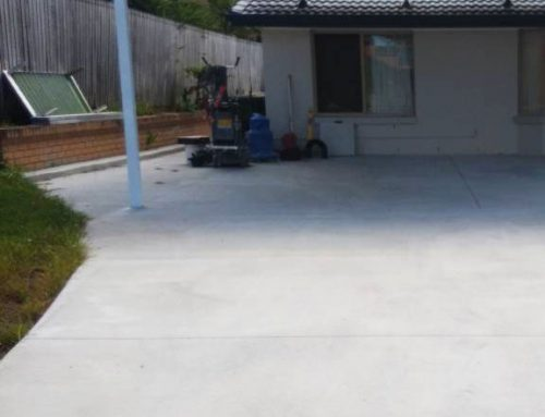 Residential Driveway Carport Grind and Seal in Sunnybank, Brisbane